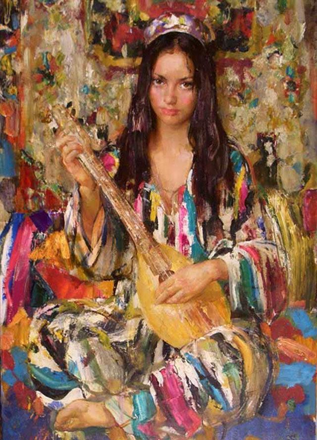 俄罗斯画家尼古拉.布洛欣_图1-2