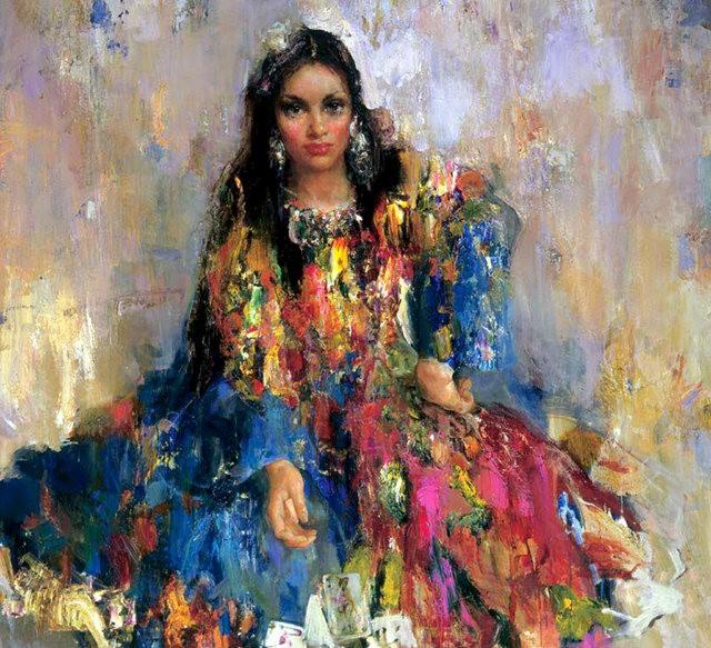 俄罗斯画家尼古拉.布洛欣_图1-5