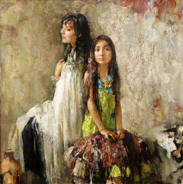 俄罗斯画家尼古拉.布洛欣_图1-8