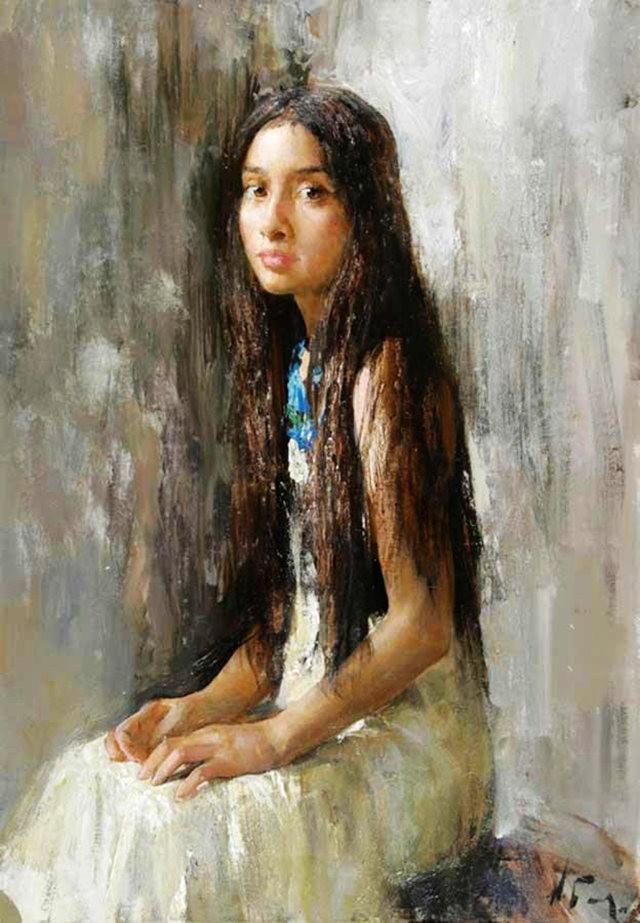 俄罗斯画家尼古拉.布洛欣_图1-9