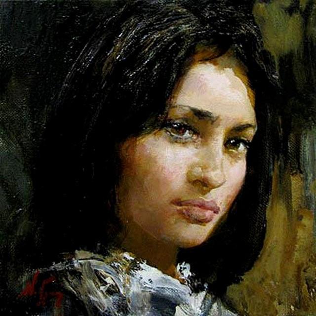 俄罗斯画家尼古拉.布洛欣_图1-13