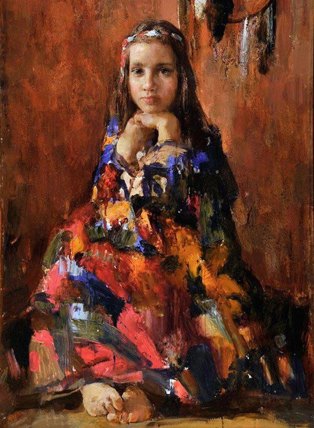 俄罗斯画家尼古拉.布洛欣_图1-14