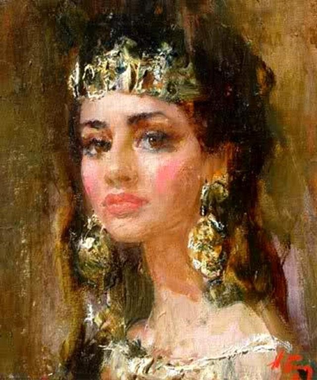 俄罗斯画家尼古拉.布洛欣_图1-15