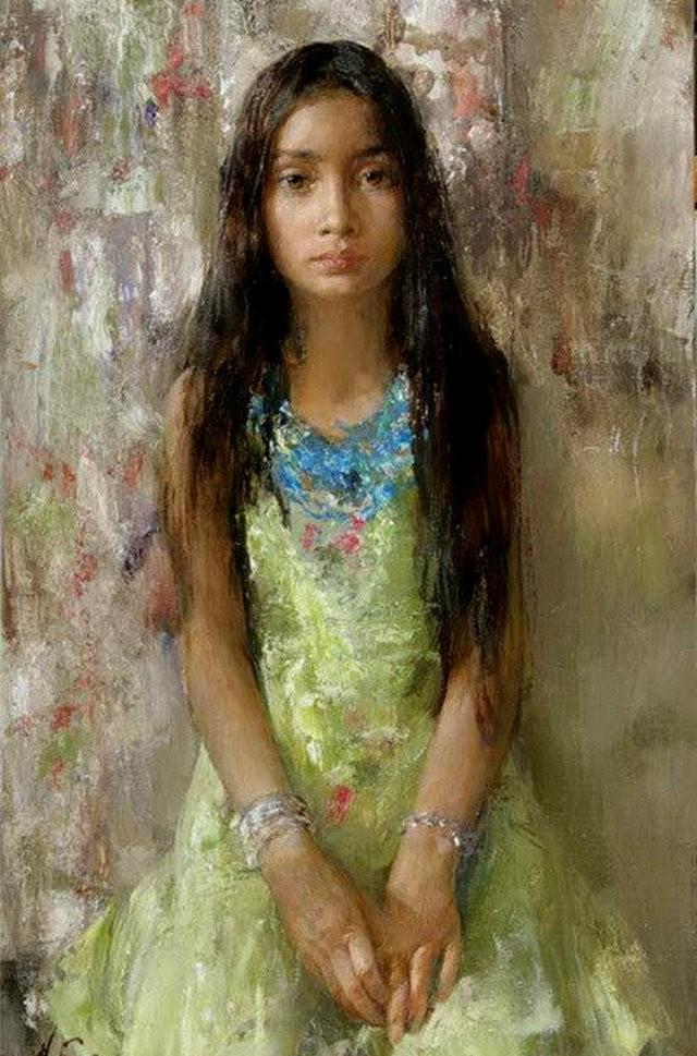 俄罗斯画家尼古拉.布洛欣_图1-17