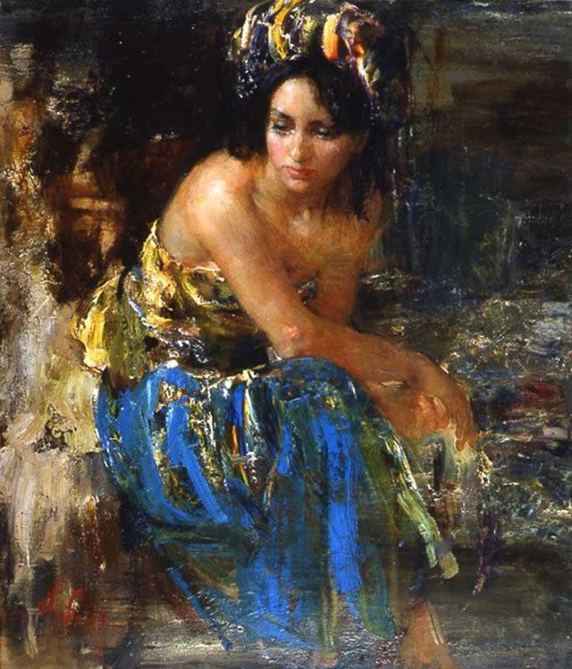 俄罗斯画家尼古拉.布洛欣_图1-19