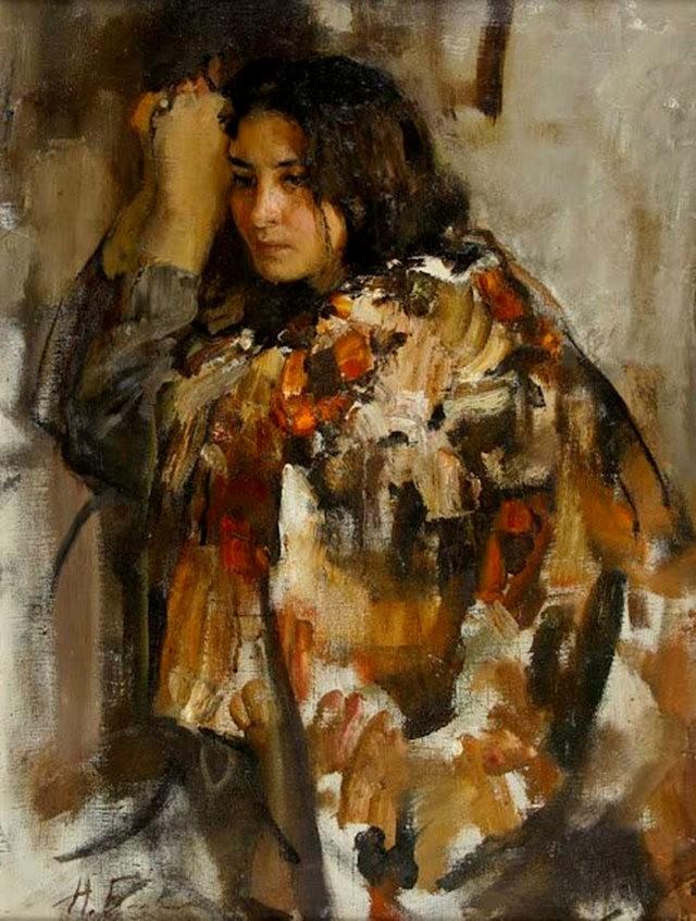 俄罗斯画家尼古拉.布洛欣_图1-21