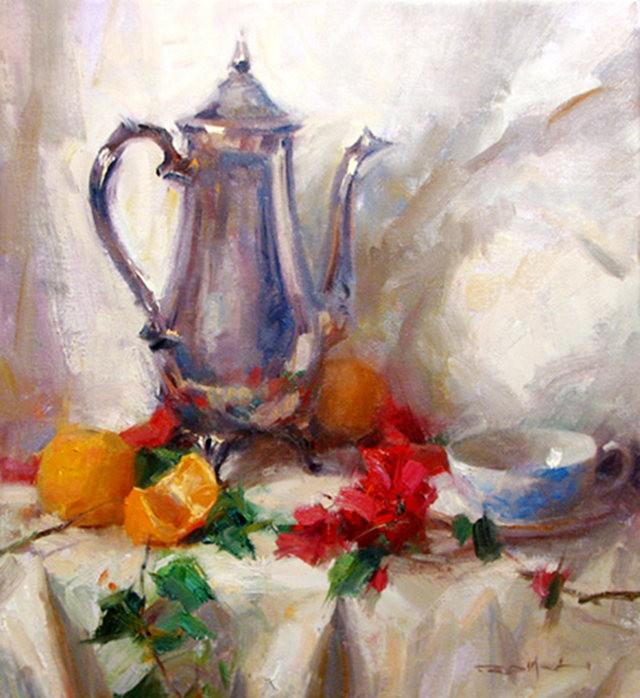 画家Romel de la torre作品_图1-4