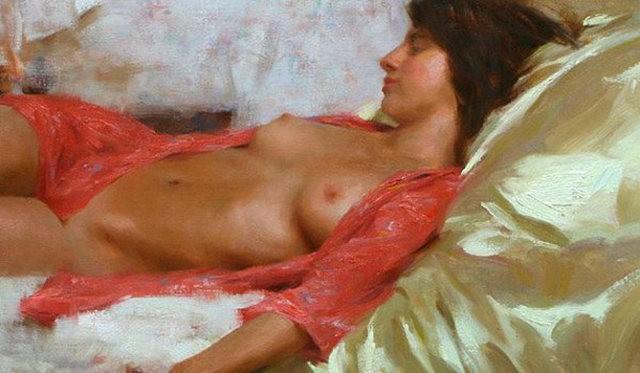画家Romel de la torre作品_图1-14