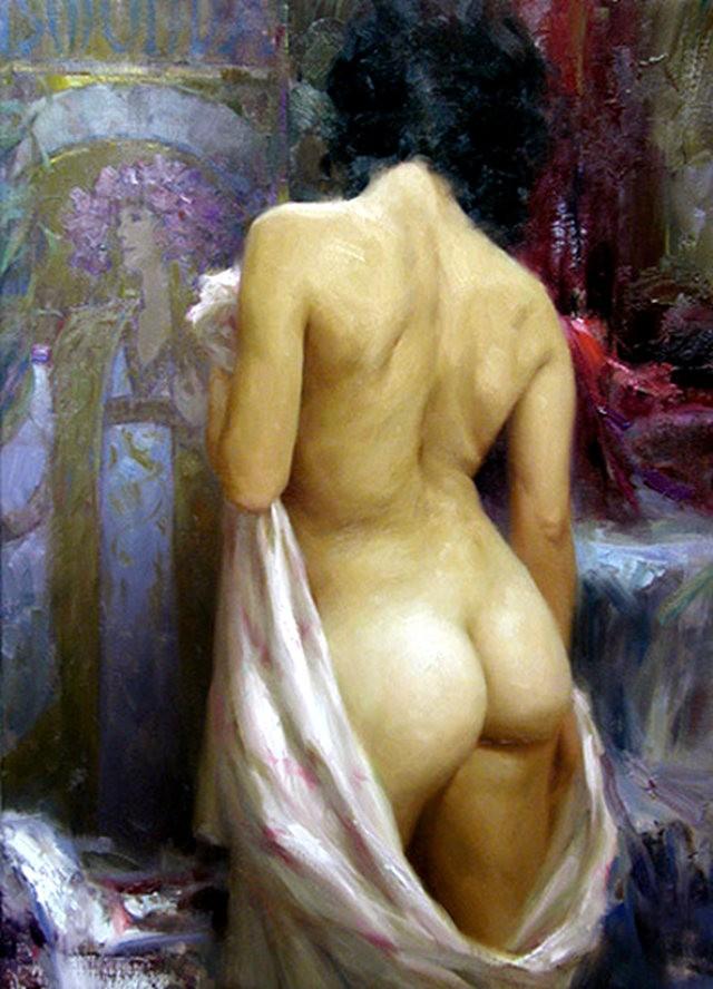 画家Romel de la torre作品_图1-15