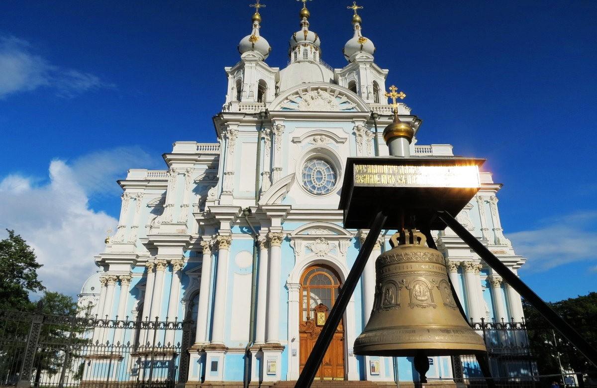斯莫尔尼修道院教堂---圣彼得堡最高的建筑_图1-1