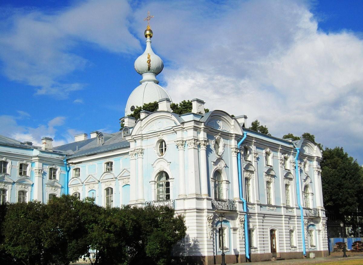 斯莫尔尼修道院教堂---圣彼得堡最高的建筑_图1-4