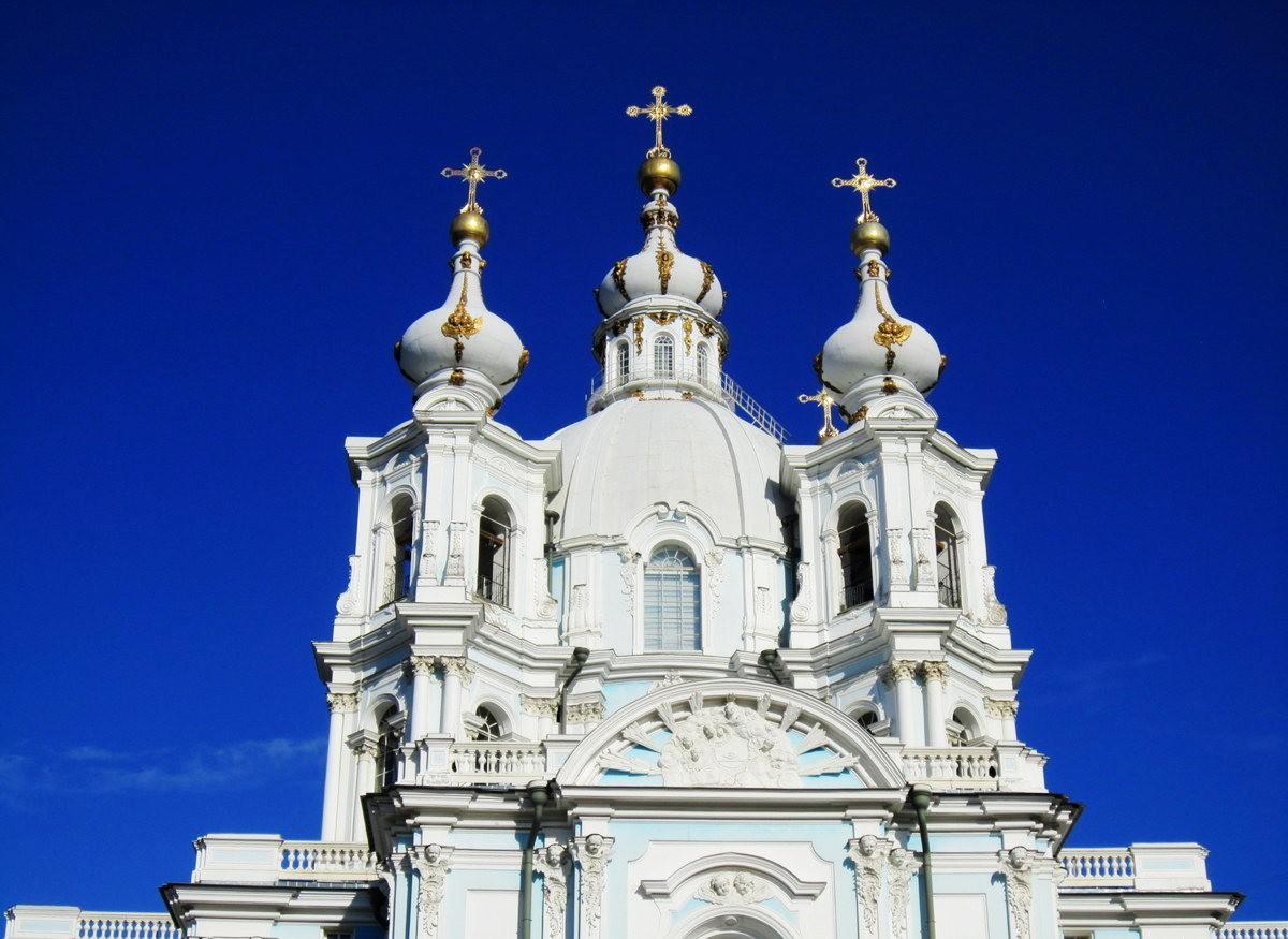 斯莫尔尼修道院教堂---圣彼得堡最高的建筑_图1-5