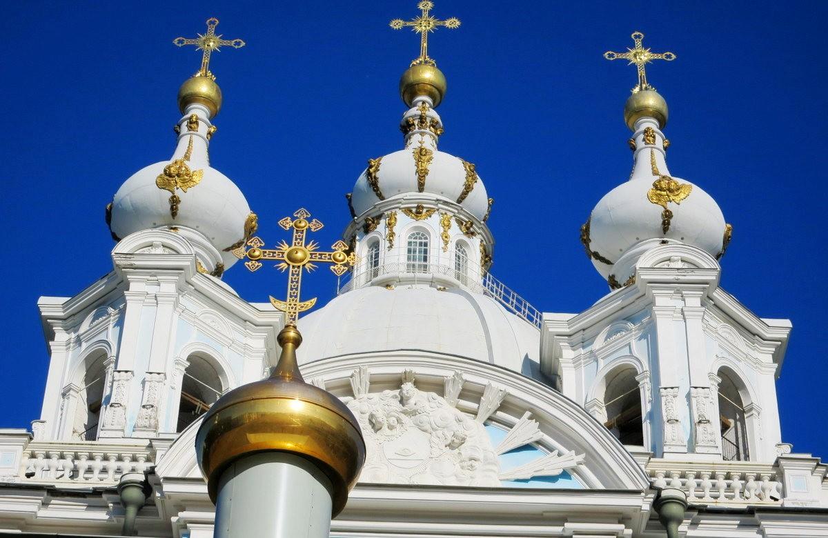 斯莫尔尼修道院教堂---圣彼得堡最高的建筑_图1-6
