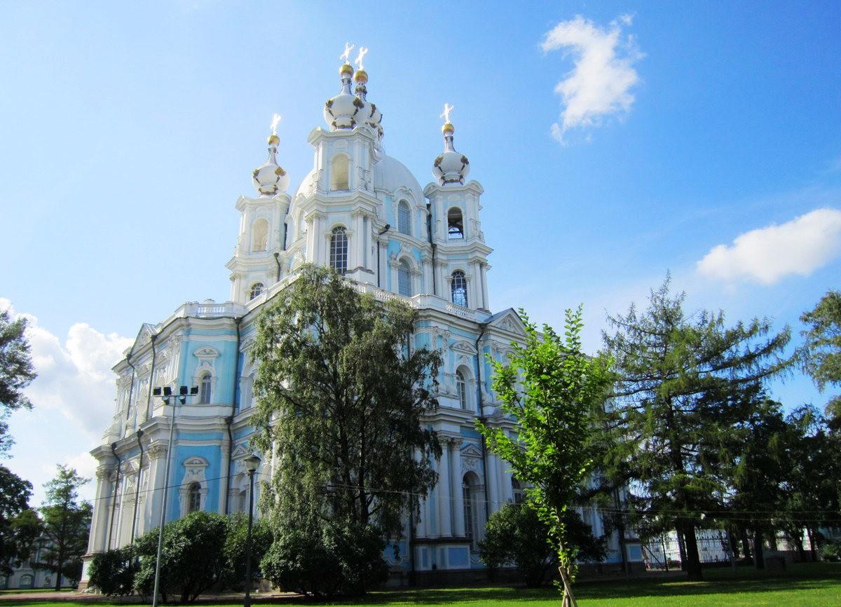 斯莫尔尼修道院教堂---圣彼得堡最高的建筑_图1-7