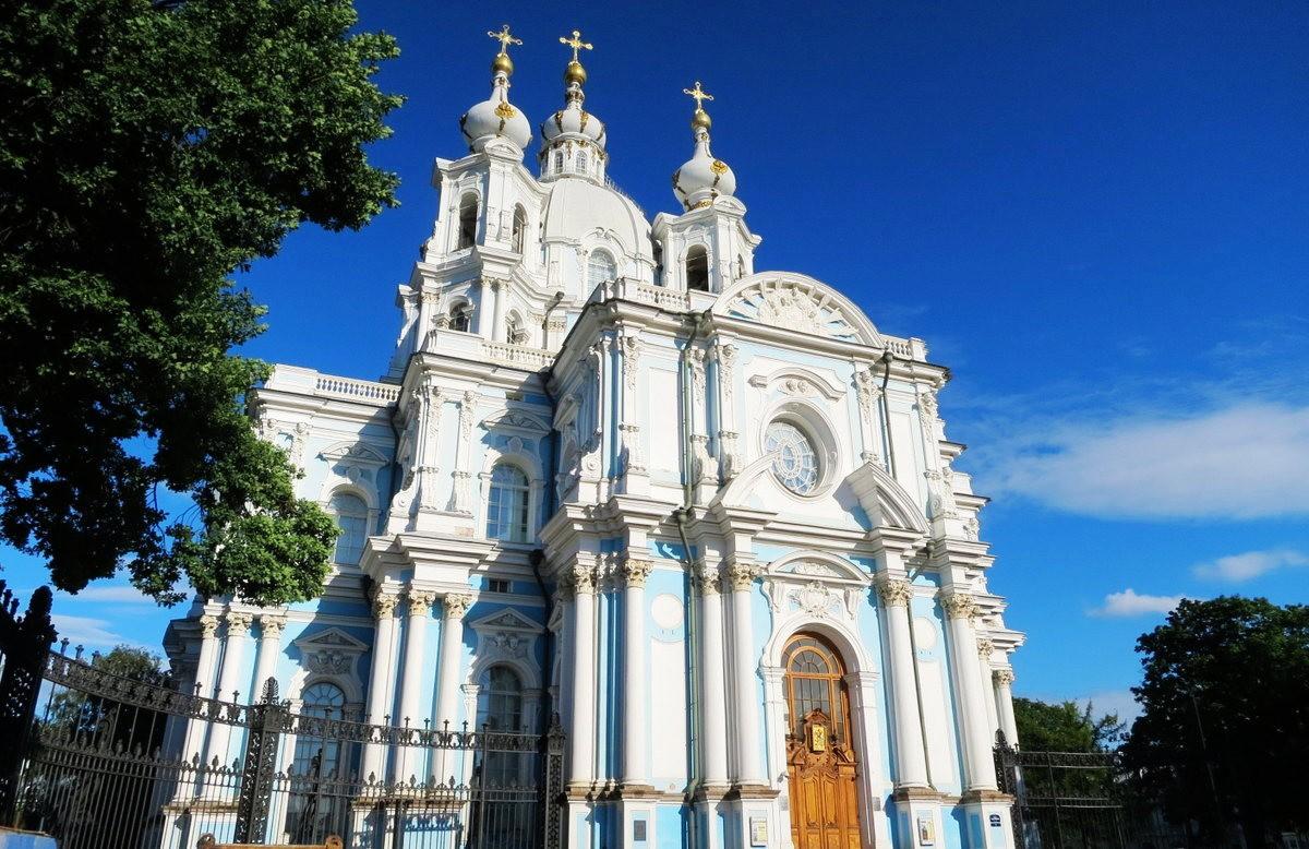 斯莫尔尼修道院教堂---圣彼得堡最高的建筑_图1-8