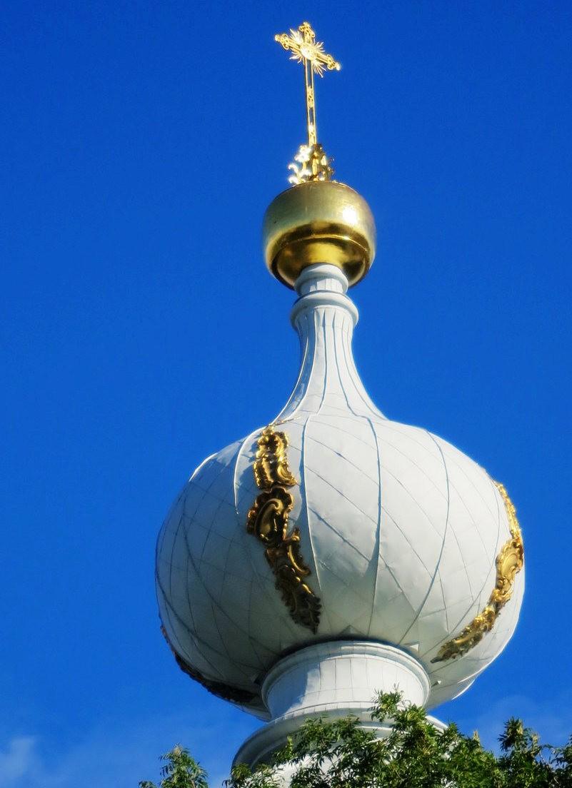 斯莫尔尼修道院教堂---圣彼得堡最高的建筑_图1-9