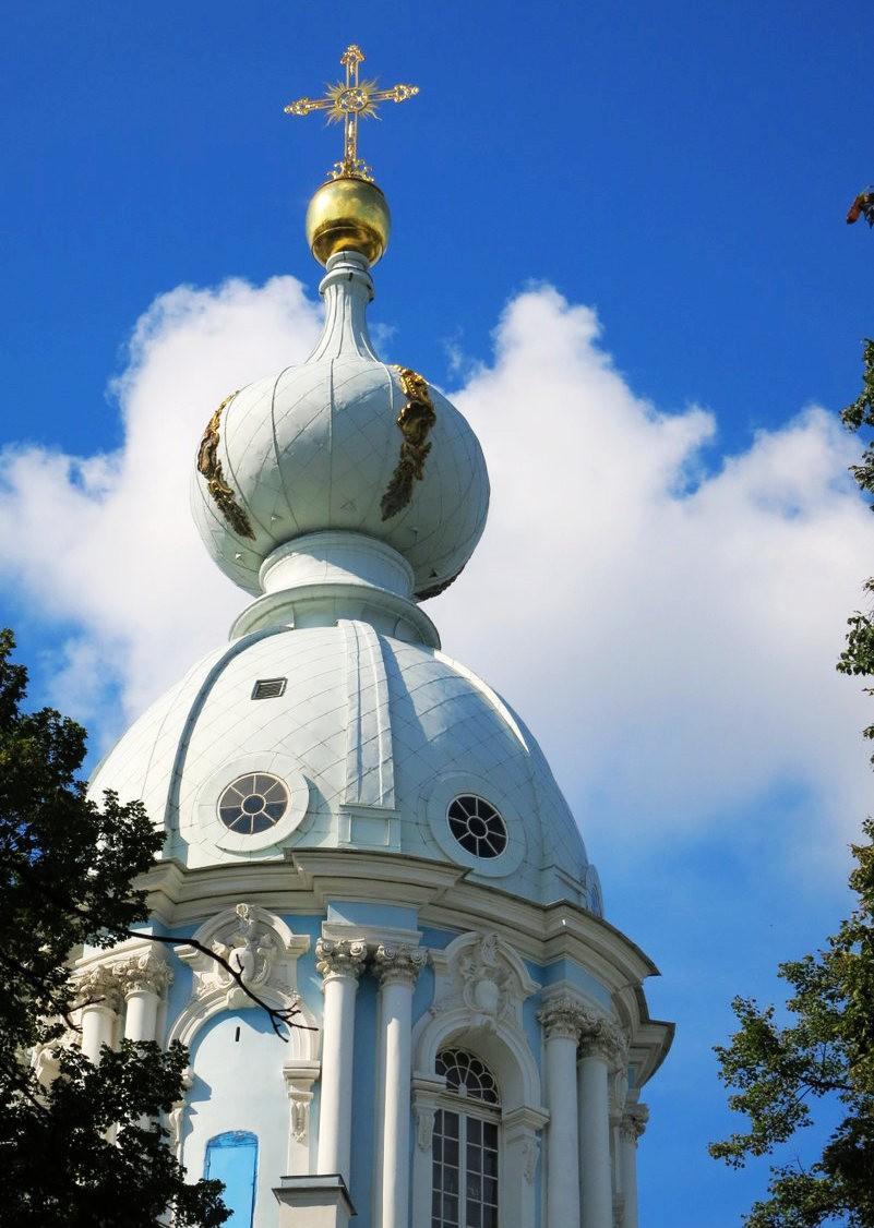 斯莫尔尼修道院教堂---圣彼得堡最高的建筑_图1-10