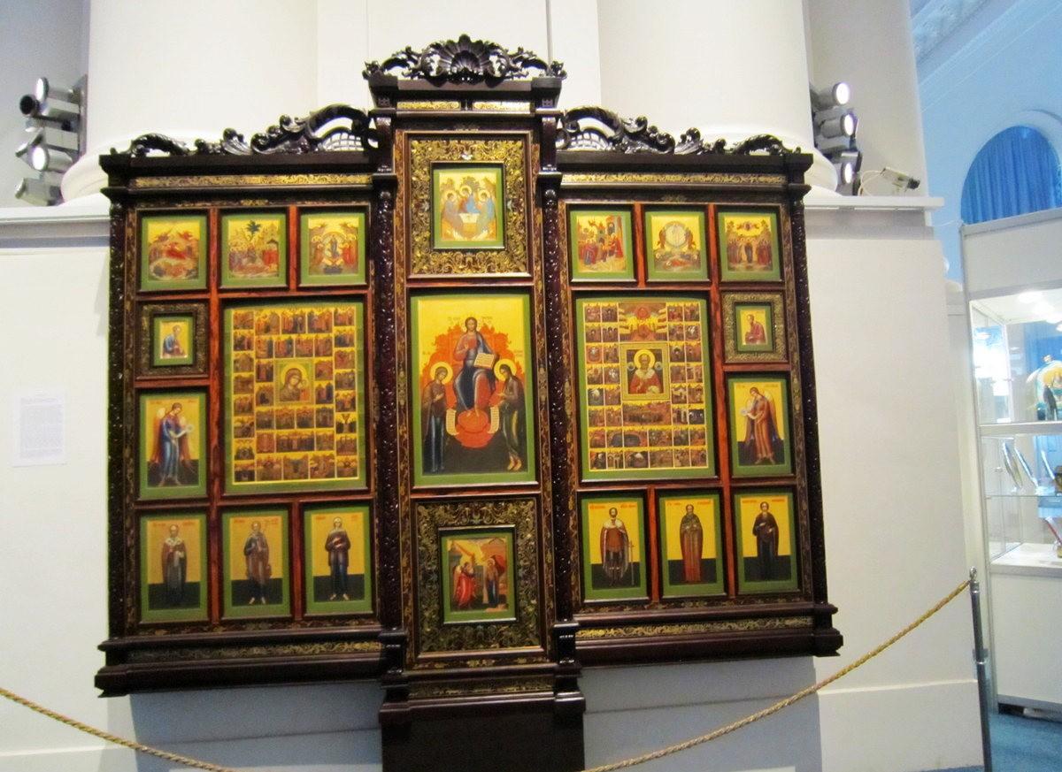 斯莫尔尼修道院教堂---圣彼得堡最高的建筑_图1-14