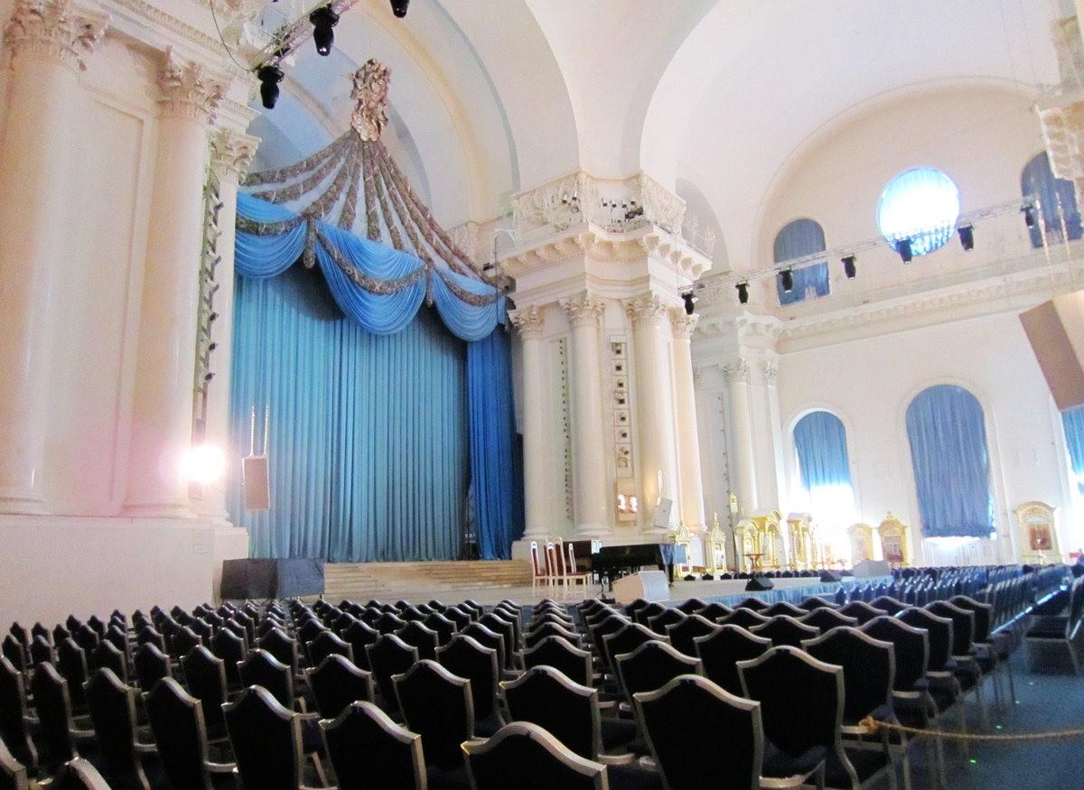 斯莫爾尼修道院教堂---聖彼得堡最高的建築_圖1-16