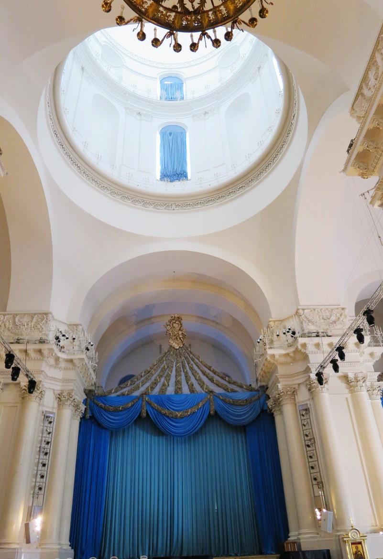 斯莫爾尼修道院教堂---聖彼得堡最高的建築_圖1-17