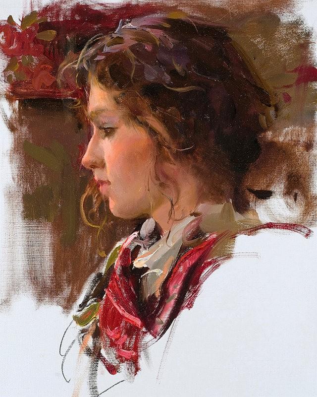 美国画家Daniel Gerhartz部分作品_图1-22