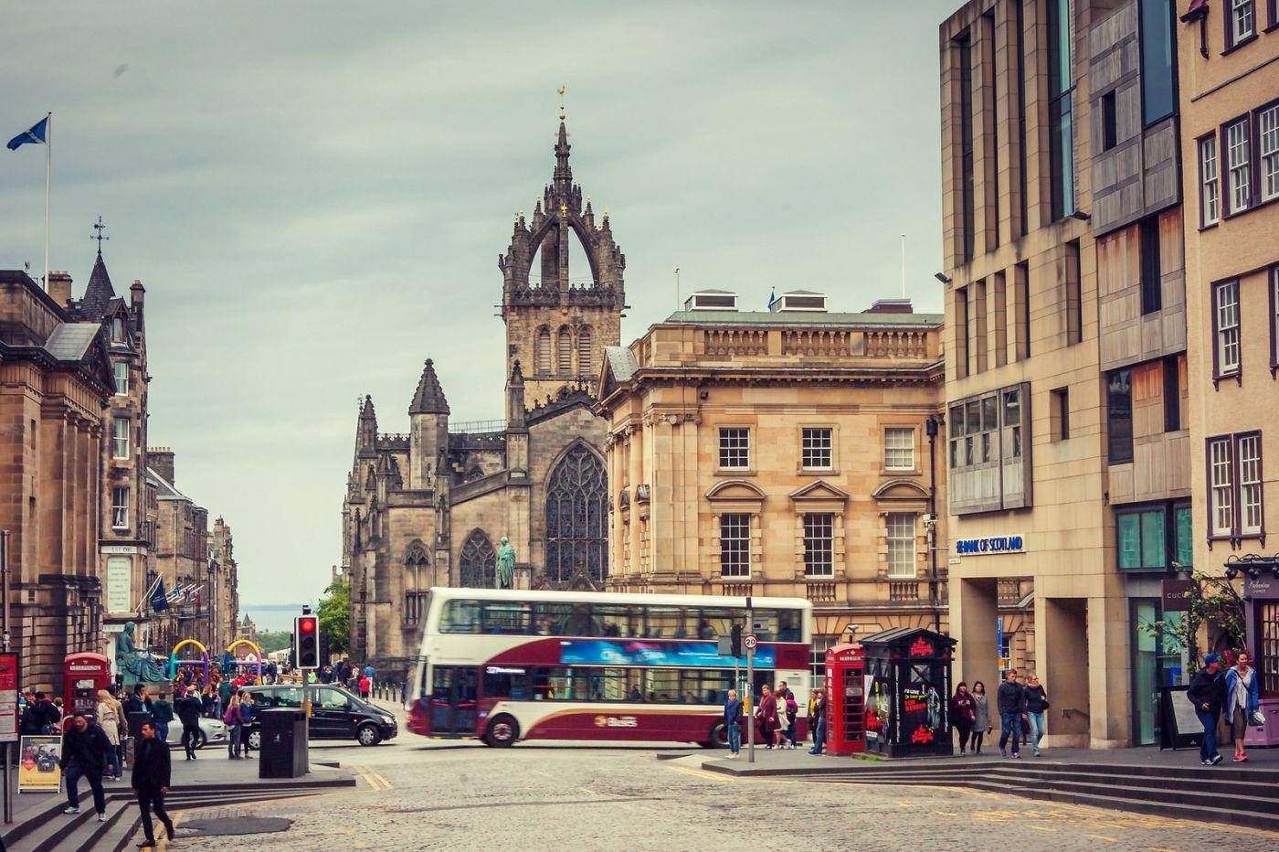 苏格兰爱丁堡,老城市老文化_图1-3