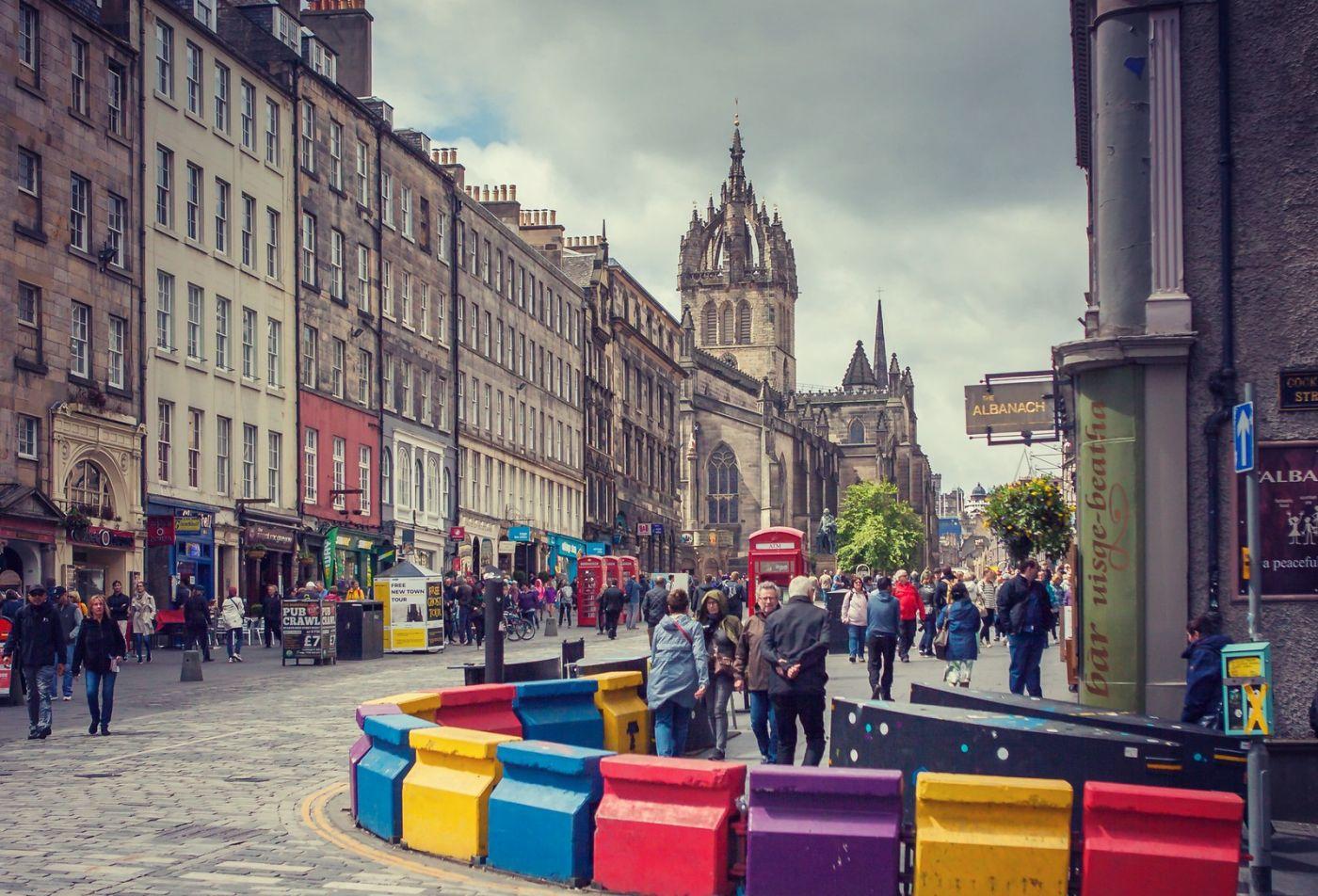 苏格兰爱丁堡,老城市老文化_图1-2