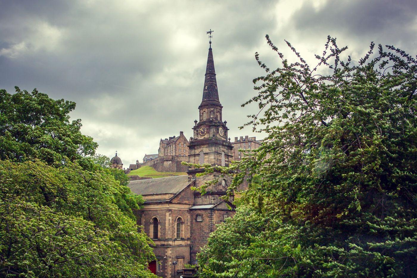 苏格兰爱丁堡,老城市老文化_图1-1
