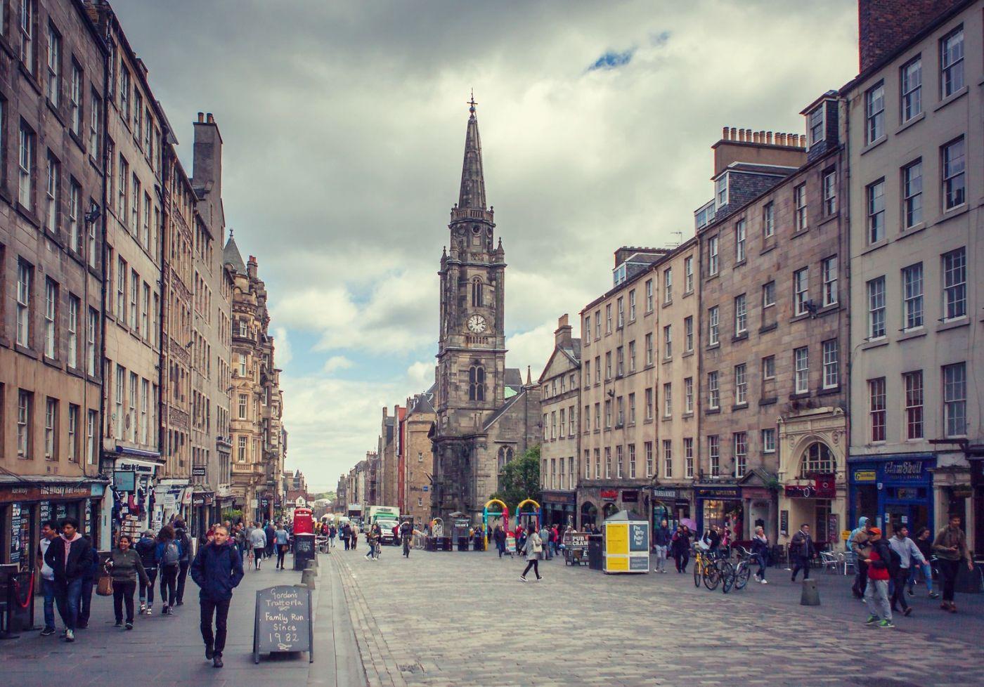 苏格兰爱丁堡,老城市老文化_图1-11