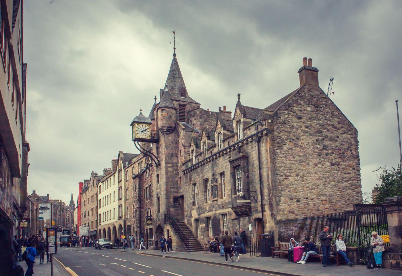 苏格兰爱丁堡,老城市老文化_图1-14