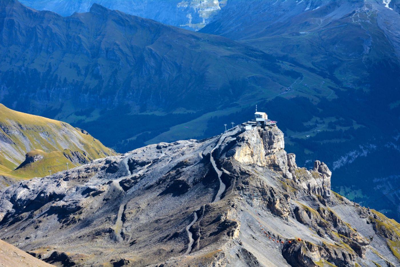 登上阿尔卑斯山遥望少女、勃朗峰_图1-8