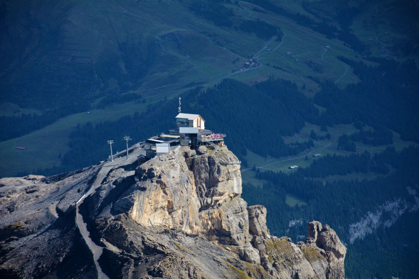 登上阿尔卑斯山遥望少女、勃朗峰_图1-10