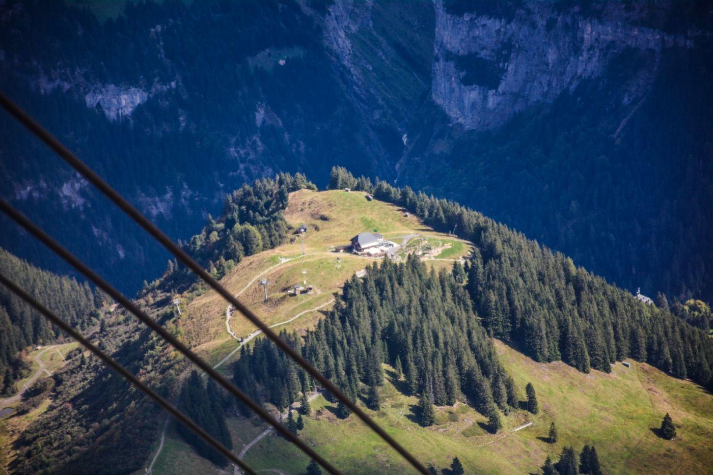 登上阿尔卑斯山遥望少女、勃朗峰_图1-19