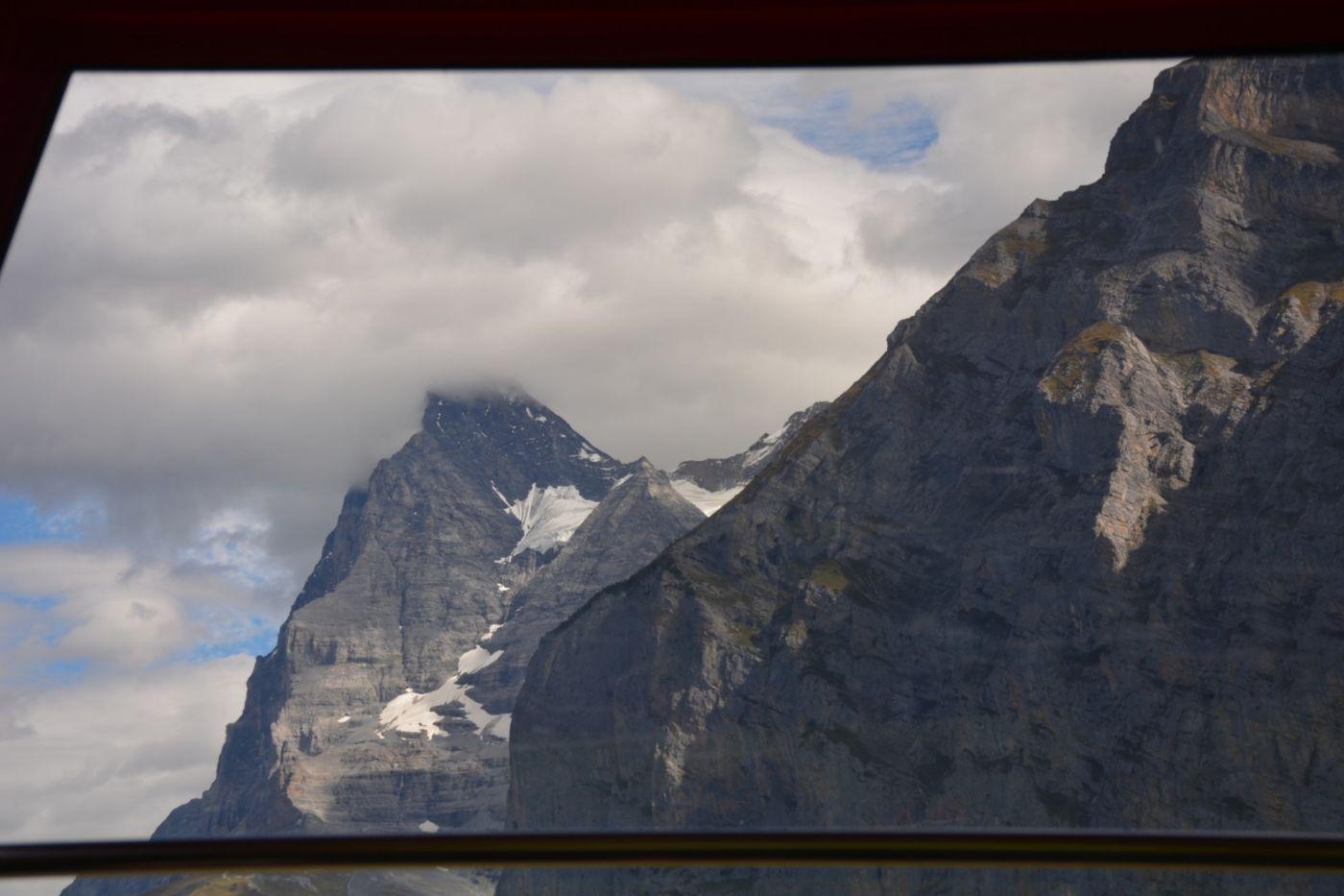 登上阿尔卑斯山遥望少女、勃朗峰_图1-27