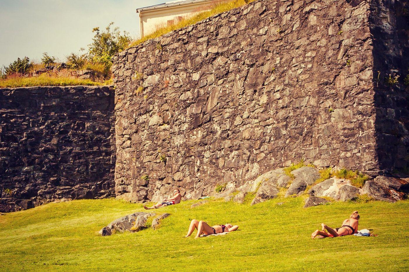 挪威卑尔根市,城市的明信片_图1-40