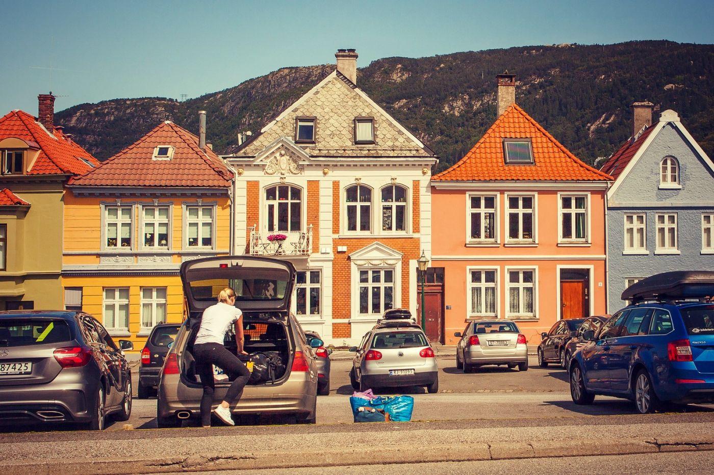 挪威卑尔根市,城市的明信片_图1-18
