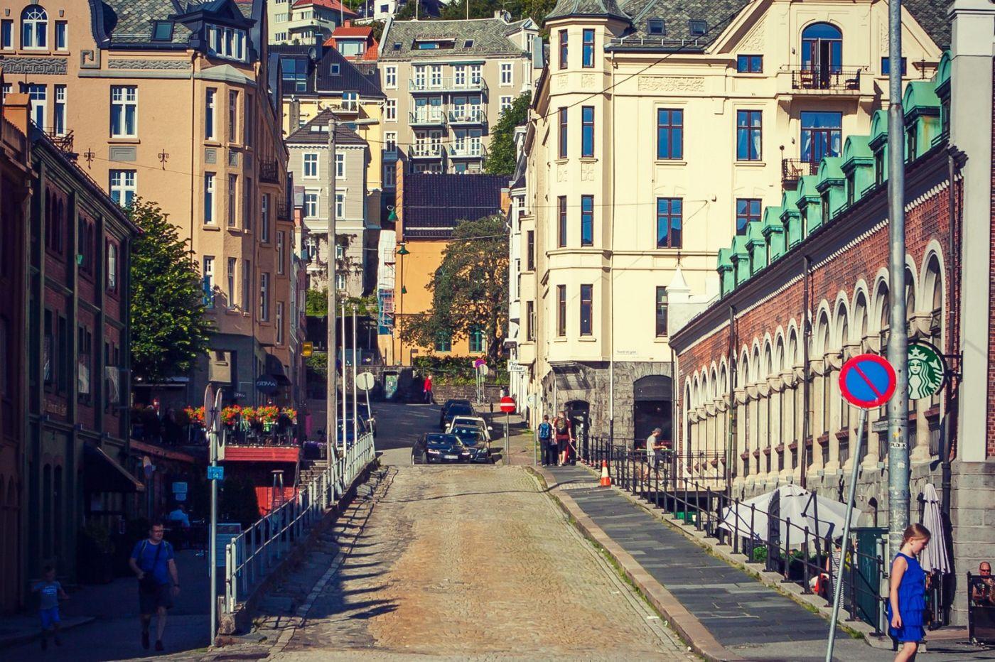 挪威卑尔根市,城市的明信片_图1-17