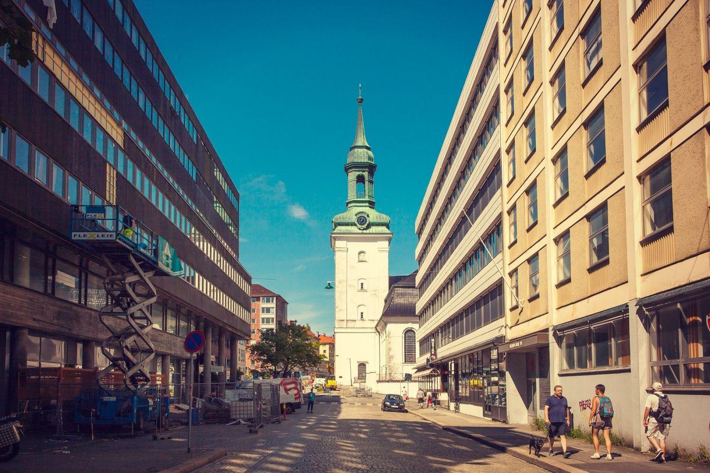 挪威卑尔根市,城市的明信片_图1-14