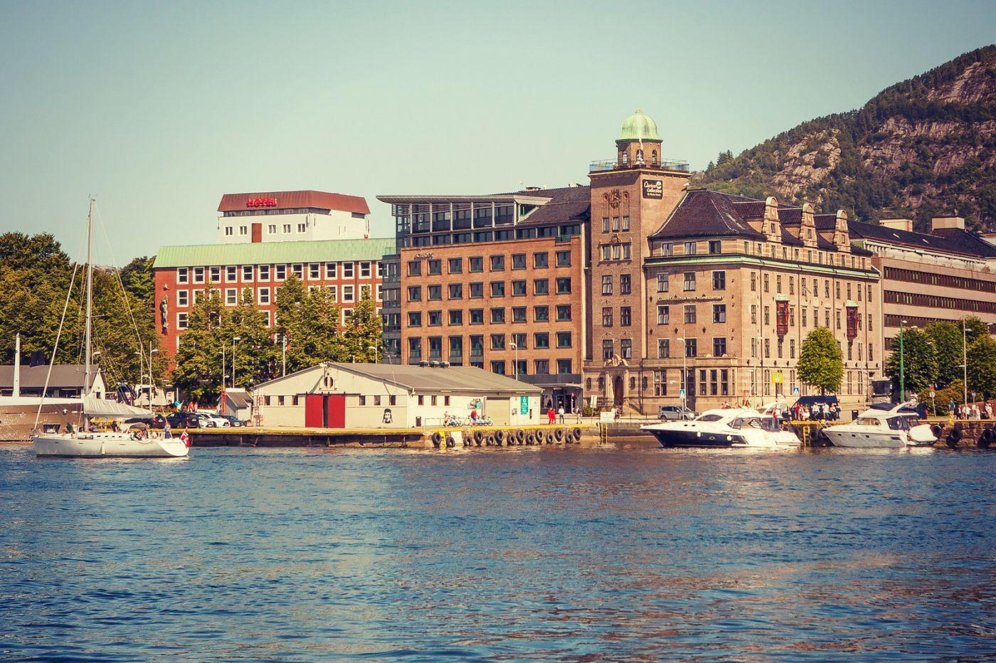 挪威卑尔根市,城市的明信片_图1-12