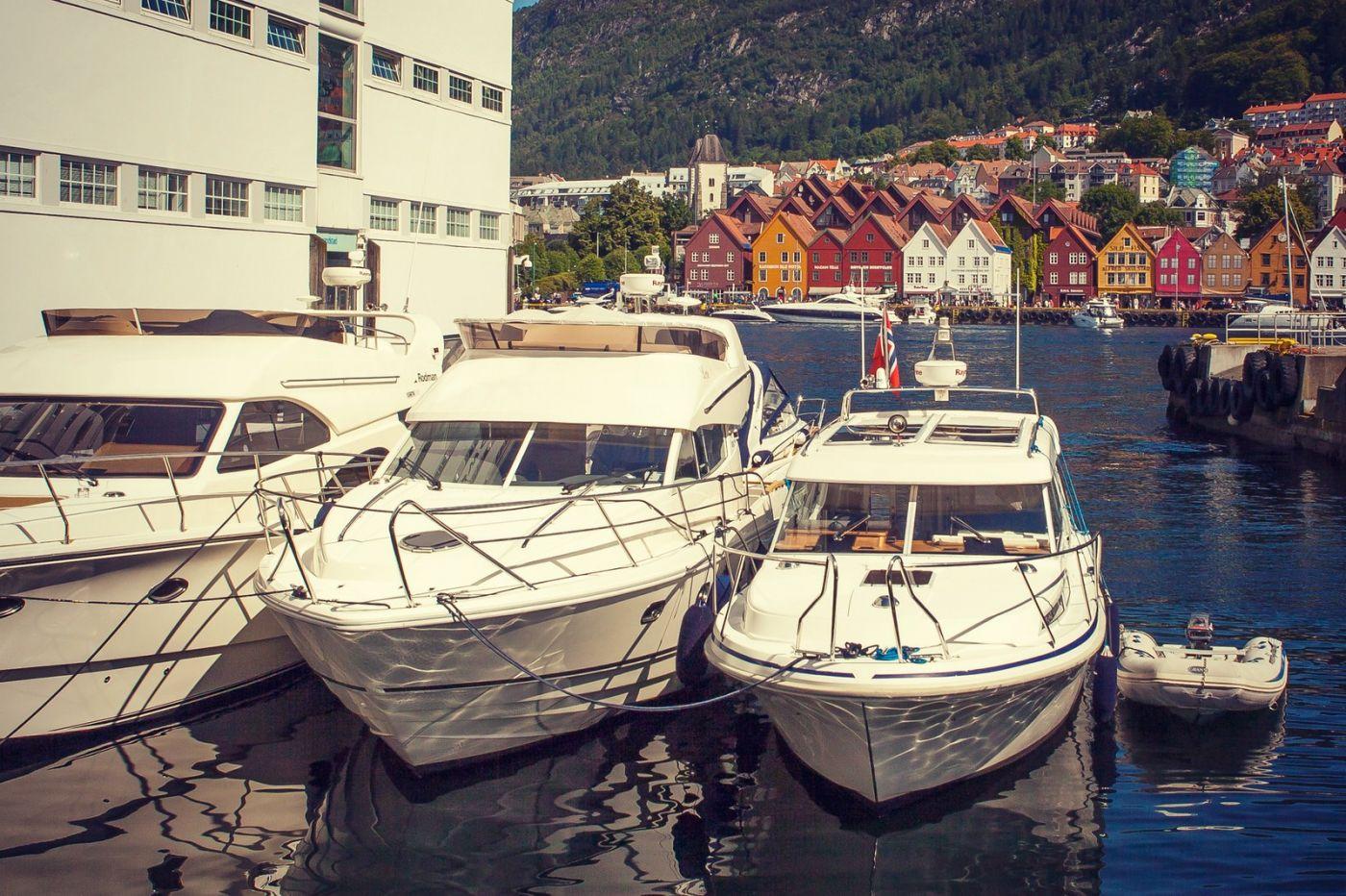挪威卑尔根市,城市的明信片_图1-9
