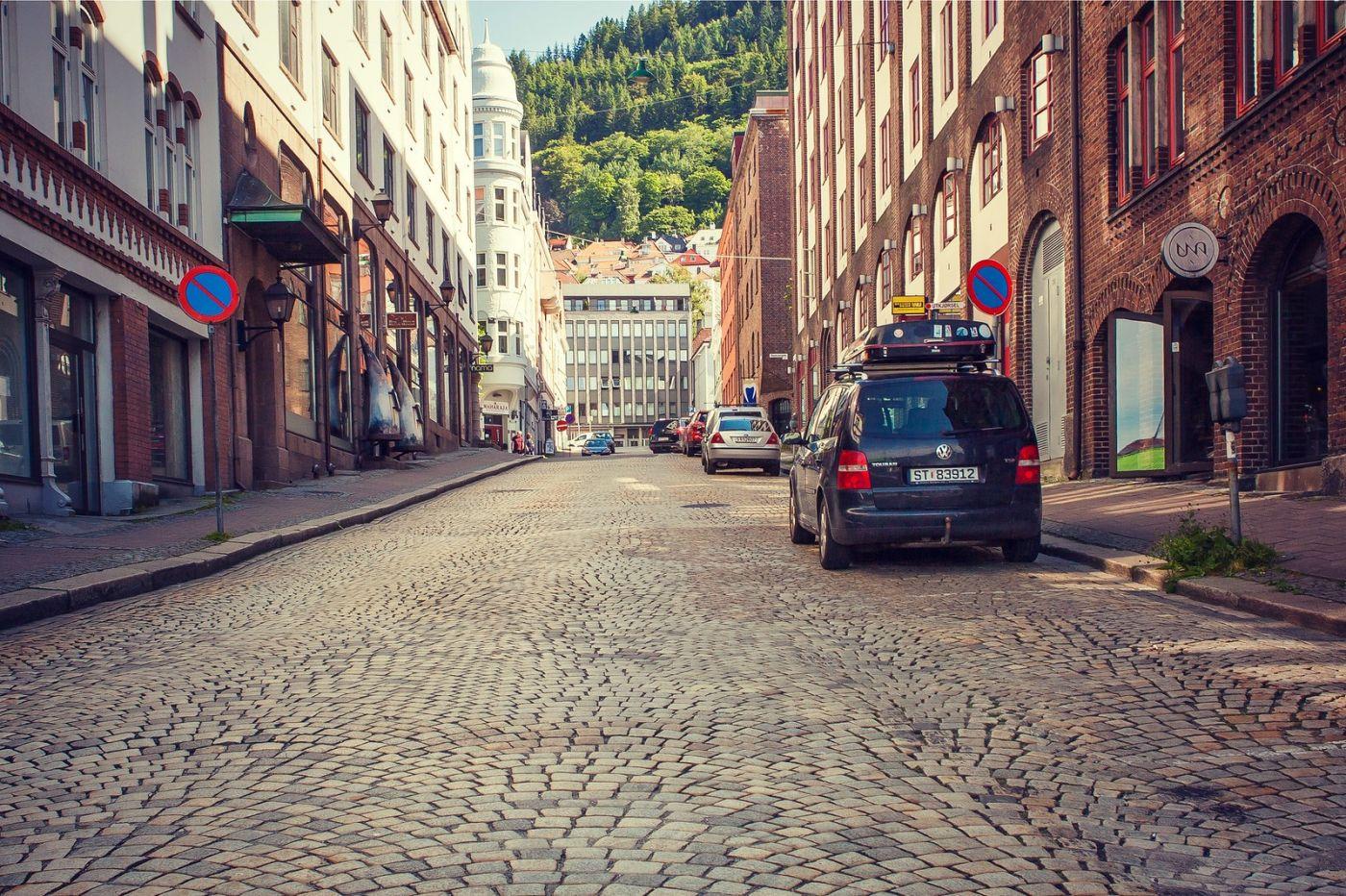挪威卑尔根市,城市的明信片_图1-25