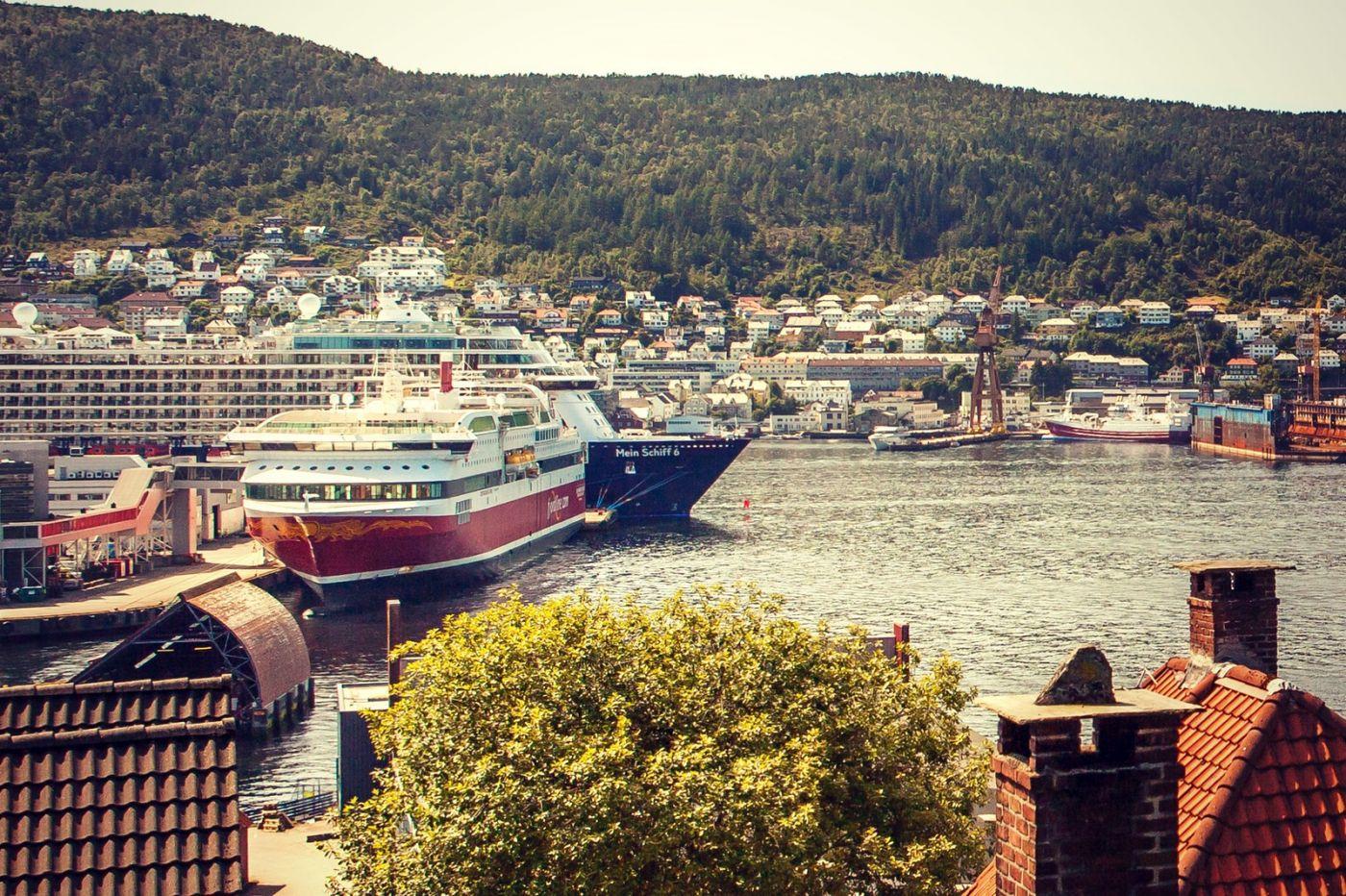 挪威卑尔根市,城市的明信片_图1-27