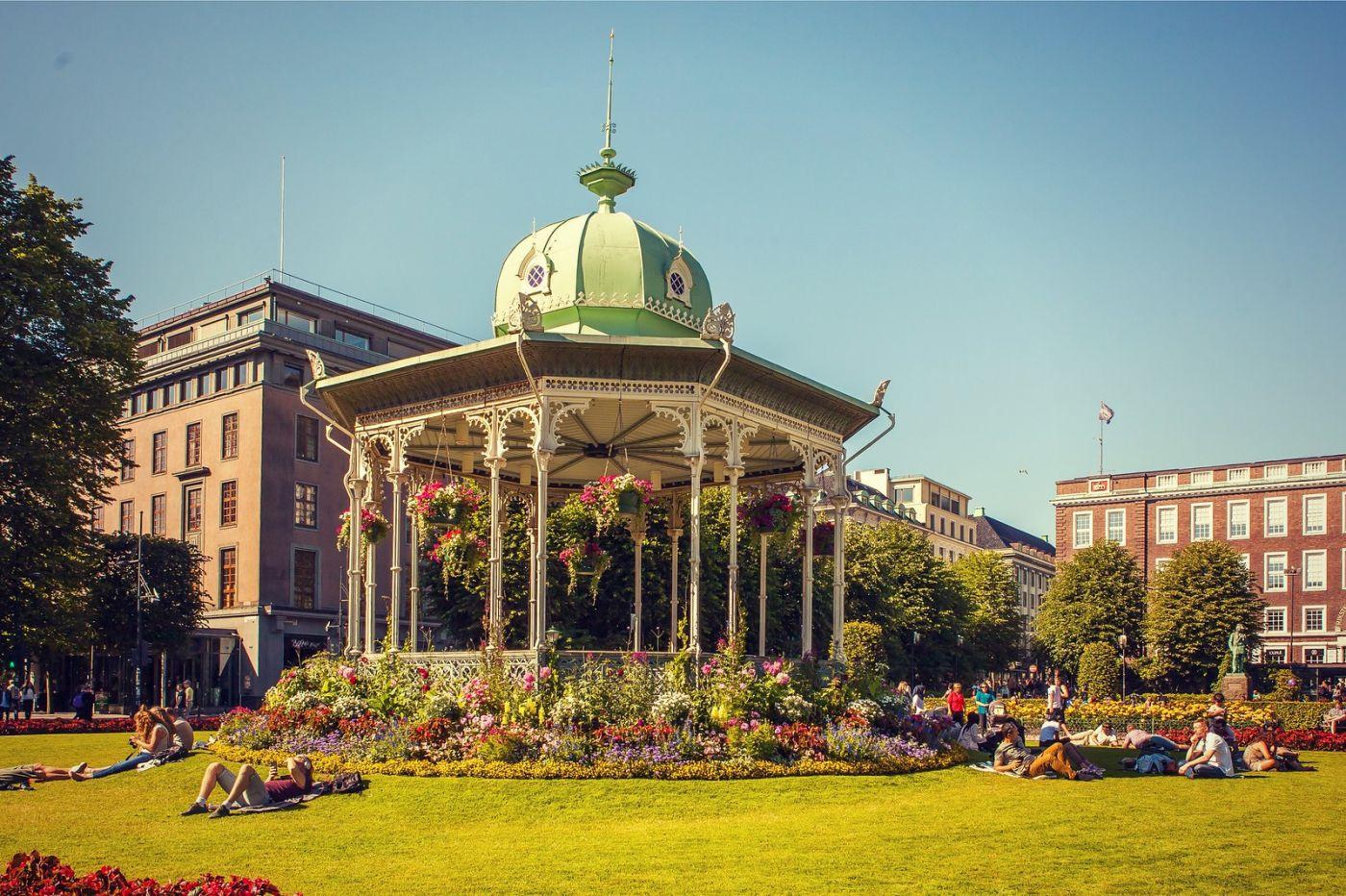 挪威卑尔根市,城市的明信片_图1-28