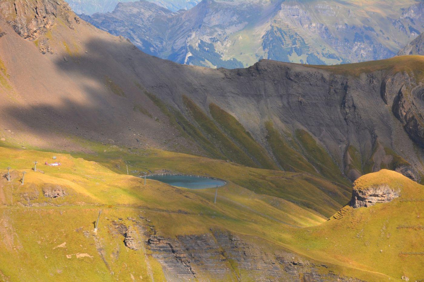 登上阿尔卑斯山遥望少女、勃朗峰_图1-15