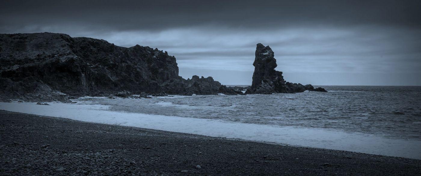 冰岛Djúpalónssandur沙滩,标志性的礁石_图1-7