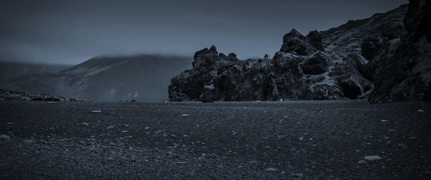 冰岛Djúpalónssandur沙滩,标志性的礁石_图1-5