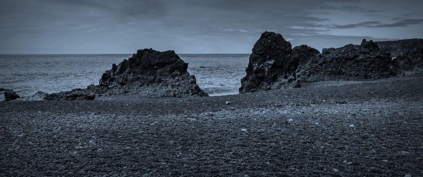 冰岛Djúpalónssandur沙滩,标志性的礁石_图1-9