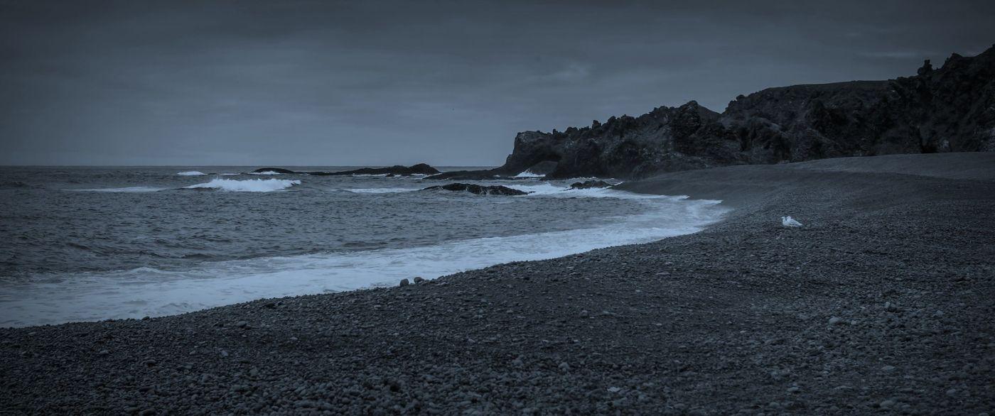 冰岛Djúpalónssandur沙滩,标志性的礁石_图1-11