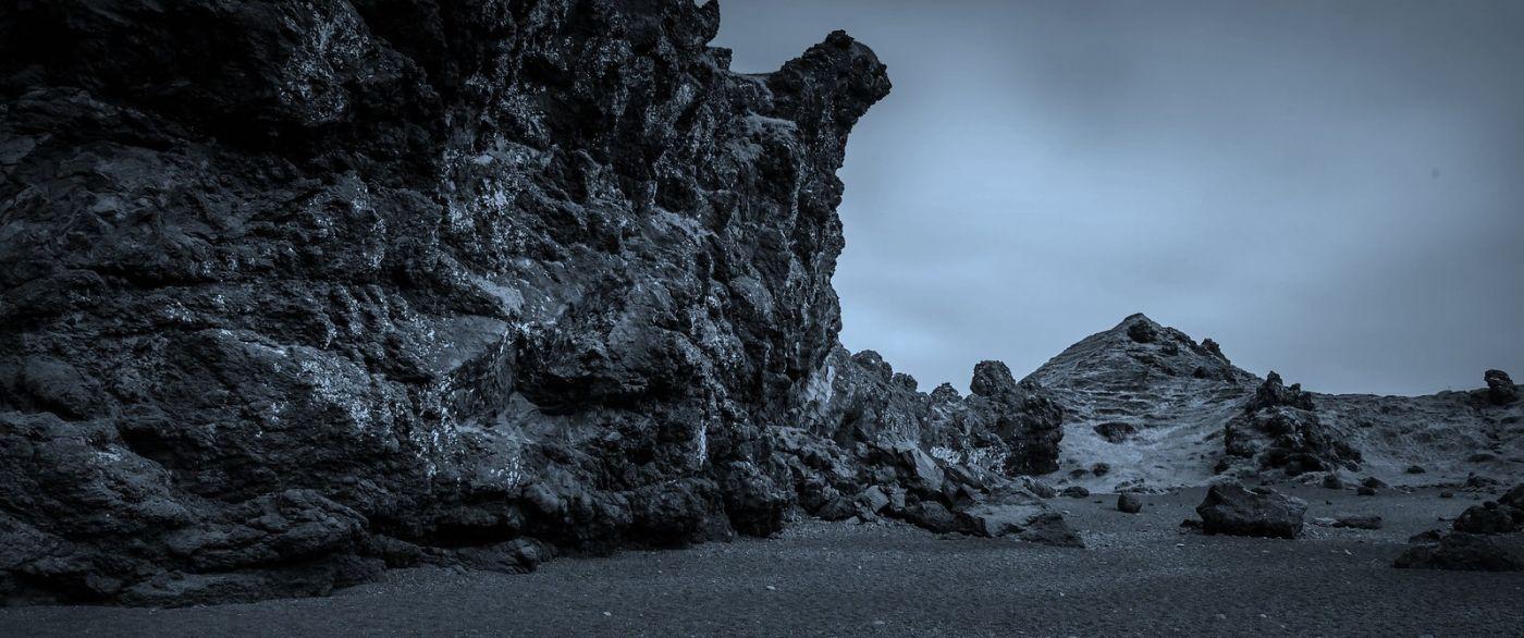 冰岛Djúpalónssandur沙滩,标志性的礁石_图1-12