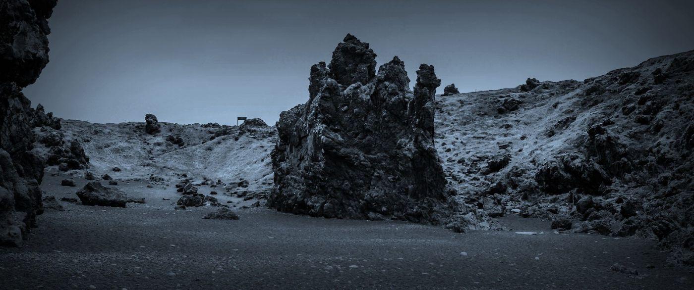 冰岛Djúpalónssandur沙滩,标志性的礁石_图1-10